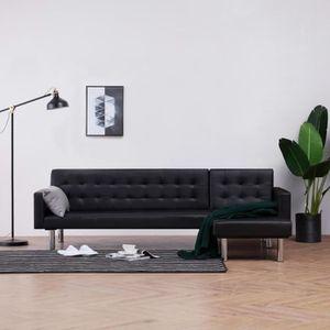 CANAPÉ - SOFA - DIVAN Canapé-lit Canapé d'angle- Scandinave Sofa avec ac