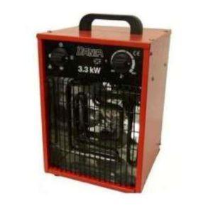 RADIATEUR D'APPOINT AEROTHERM ELECTRIQUE PORTABLE DANIA 3,3KW - 400M3/