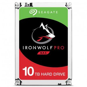 DISQUE DUR INTERNE SEAGATE Disque dur IronWolf Pro 10 To 7200rpm 256M
