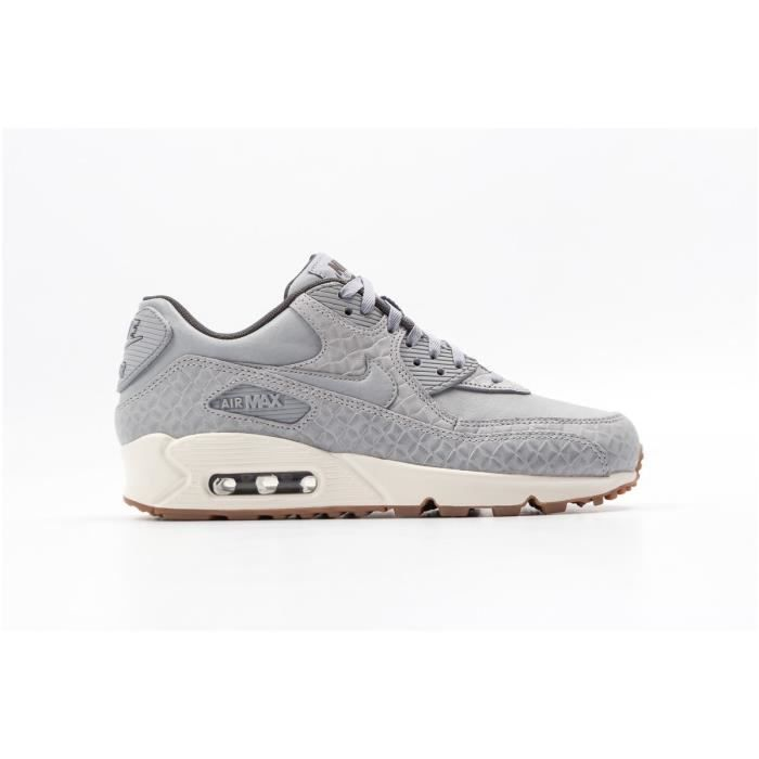 separation shoes ed0c4 4986f BASKET NIKE Baskets Air Max 90 Prem Chaussures Femme