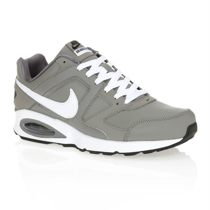 NIKE Basket Air Max Chase Homme Gris et blanc. Achat