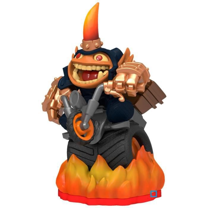 jeux pc video console figurines accessoires figurine skylanders trap team hog wild fryno f