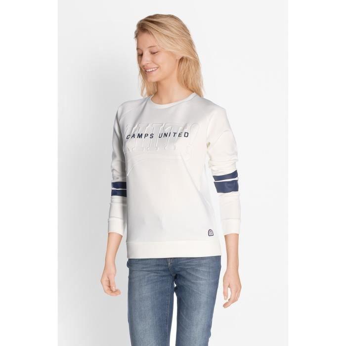 CAMPS Sweatshirt - Femme - Blanc