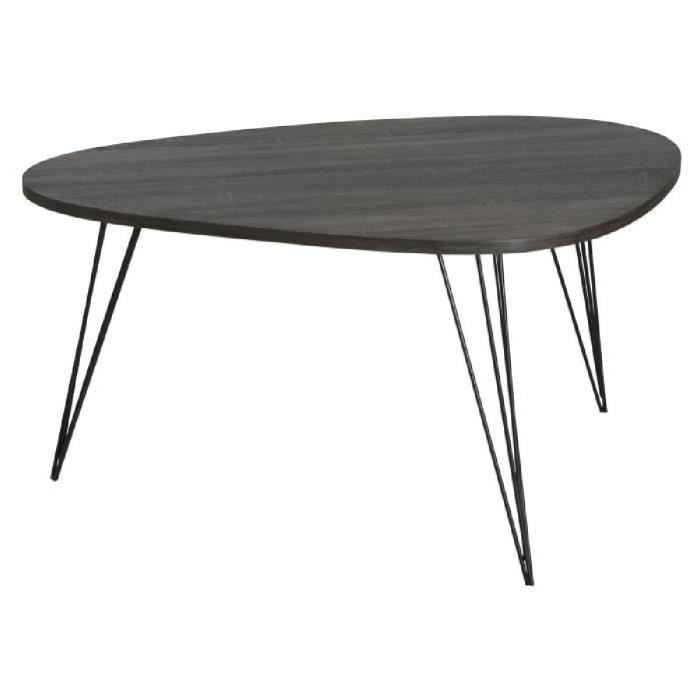 melbourne table basse scandinave en mdf placage ch ne. Black Bedroom Furniture Sets. Home Design Ideas
