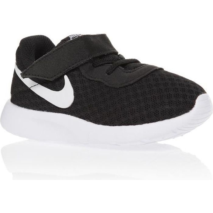 nike baskets tanjun chaussures b b gar on noir achat vente basket cdiscount. Black Bedroom Furniture Sets. Home Design Ideas