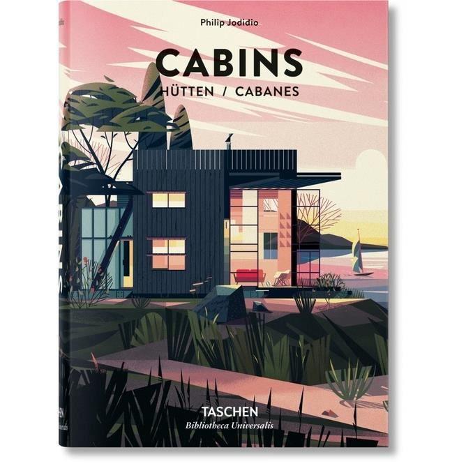 Cabanes. Edition français-anglais-allemand