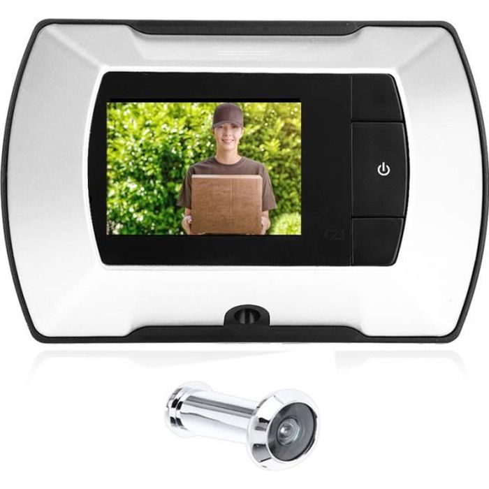 2.4 pouces LCD Digital Peephole Smart Door Viewer Avec Camera Photo Function Home Security
