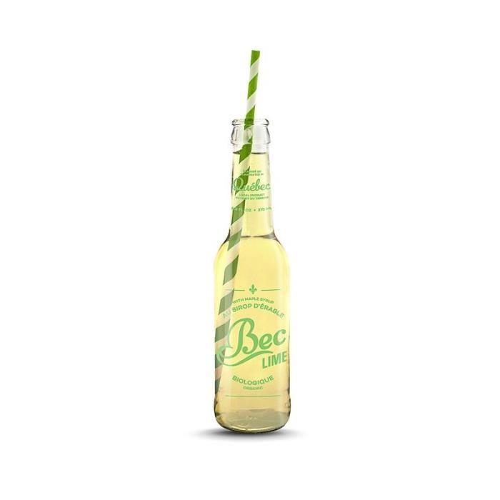 Sodas biologique Bec Cola lime - Erable et Citron