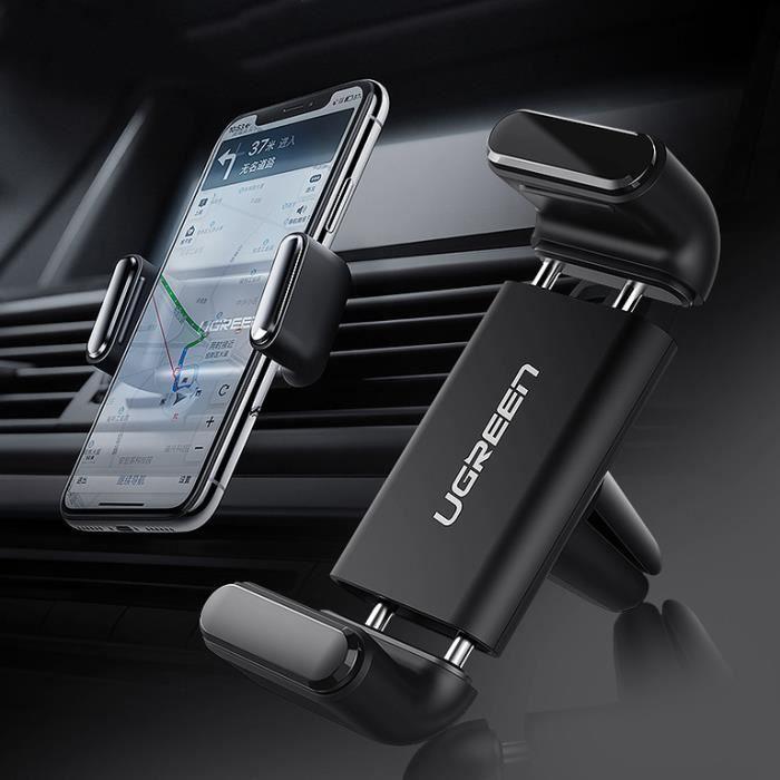 Support de téléphone de voiture pour support de téléphone portable support iPhone 11 support de téléphone de voiture 8 évent