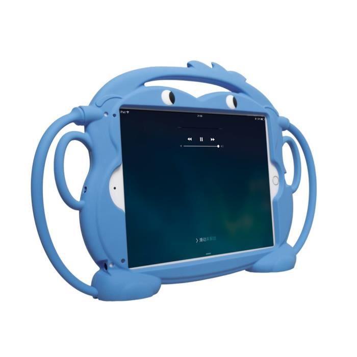 Accueille les enfants Carry Case Lavable en silicone pour iPad - iPad Air 9,7 pouces @ZBB90410001BU-ipad9.7 animal pouces coque de