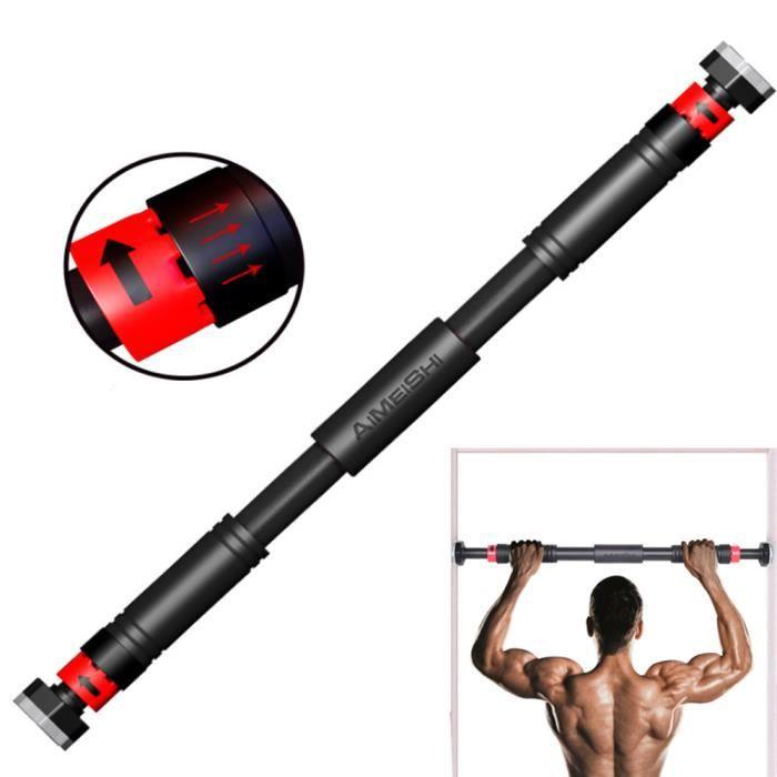 Barre de Traction pour Porte Barre de Musculation Cadre de Porte 67-93cm Entraîneur pour Abdominaux, Dos et Triceps Charge Max.150KG
