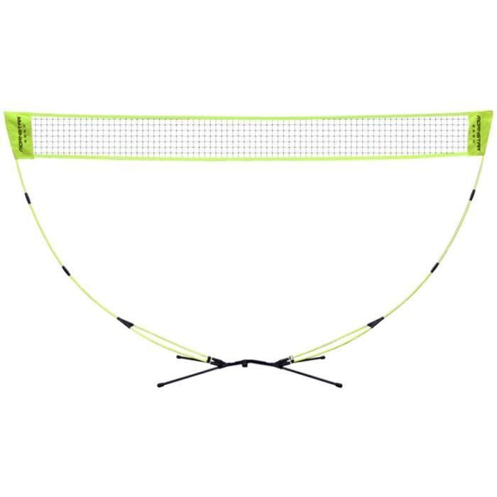 Badminton Badminton Volley-Ball Tennis Net Portable Badminton Net for Le Jardin et Le Sac Permanent de Badminton et de Volleyball202