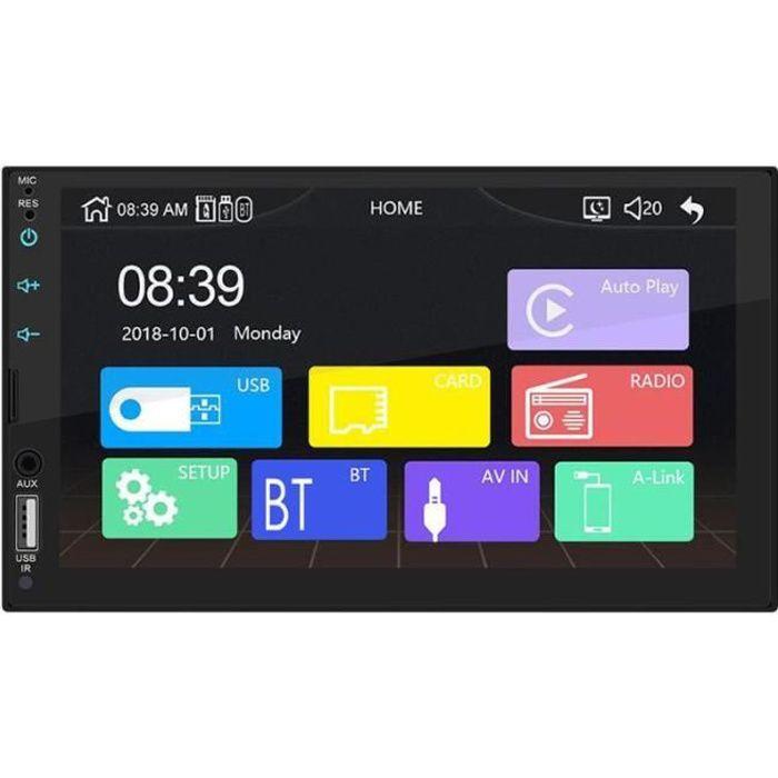 X2 autoradio Apple Carplay 7 pouces écran tactile MP5 lecteur Radio Bluetooth Android AUX USB FM Radio dans - Type Without Camera