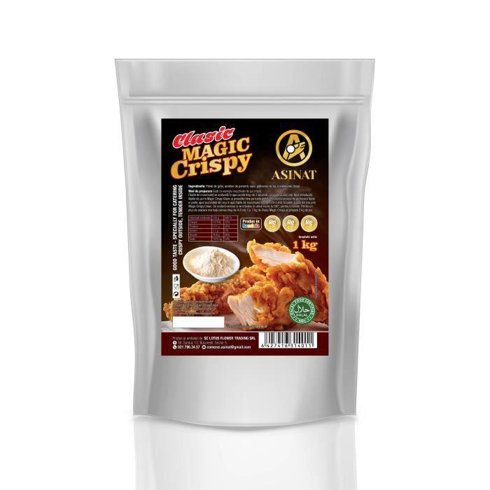 Melange Clasic Magic Crispy pour poulet croustillant / Fried Chicken Flour