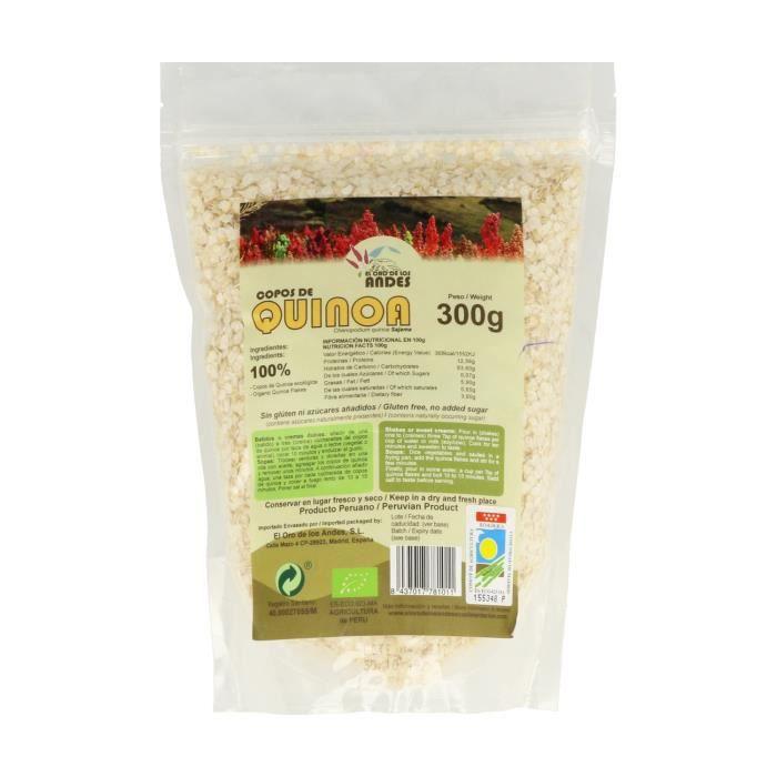 El Oro de los Andes+Flocons de quinoa éco 300 g