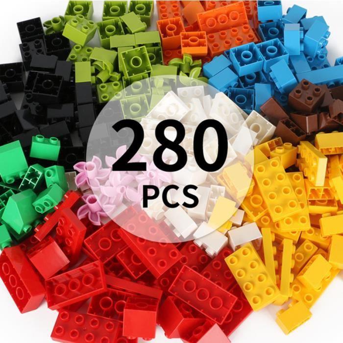 Jeux Jouets D'Assemblage enfant 280 pièces bloc de bois blocs de construction de grosses particules L'intelligence des enfants