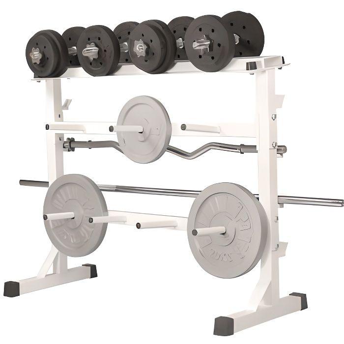 Gorilla Sports Rack de rangement pour poids et …