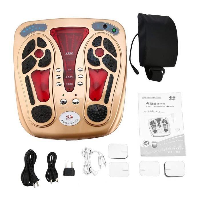 Soins de santé du corps multifonctions Pied Appareil de massage infrarouge onde électromagnétique Pulse Massager Circulation Booster
