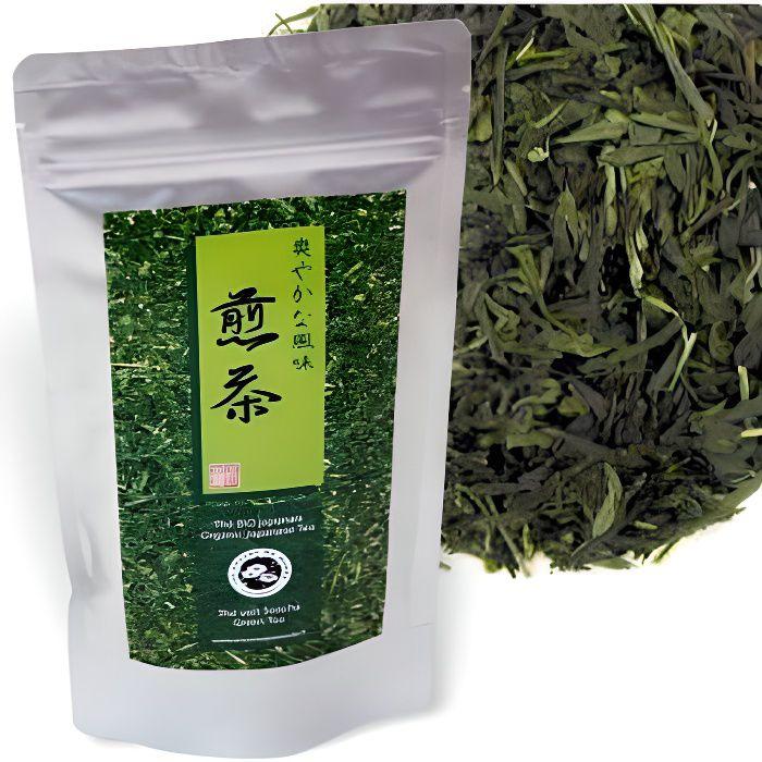 Thé vert japonais Sencha Bio - Florisens