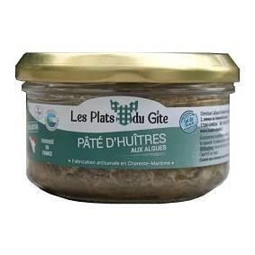LES PLATS DU GITE Pâté d'Huîtres aux Algues - 120 g