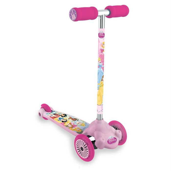DISNEY PRINCESSES Trottinette 3 Roues Twist & Roll