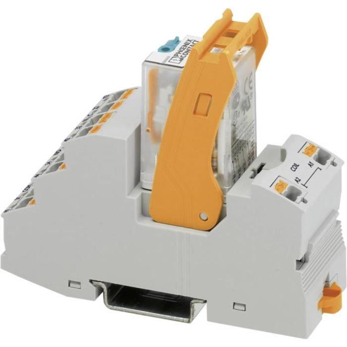 Bloc relais Phoenix Contact RIF-2-RPT-LDP-24DC-4X21 AU 2908332 24 V-DC 50 mA 4 inverseurs (RT) 10 pc(s)