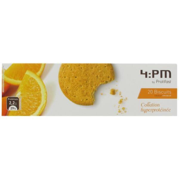 Protifast 4:PM Biscuits Saveur Orange 20