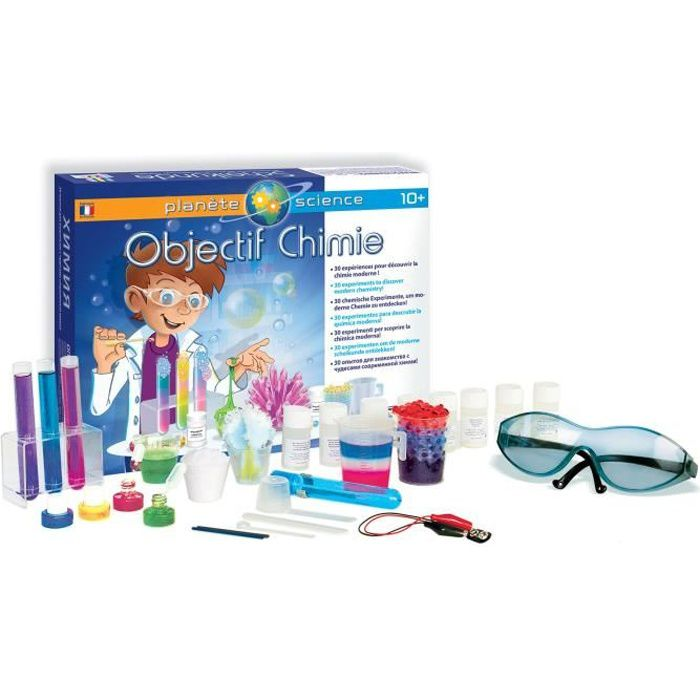 SENTOSPHERE Objectif Chimie - Pour Enfant