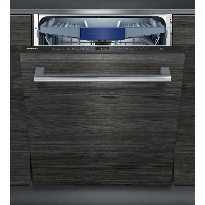 Lave-vaisselle tout encastrable SIEMENS SN658X02ME - 14 couverts - Moteur iQdrive - Largeur 60 cm - Classe A++ - 42 dB