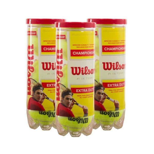 3 BOTES DE 3 PELOTAS WILSON CHAMPIONSHIP