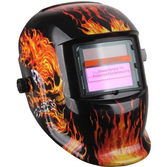 Masque de Soudure Automatique Casque Solaire Auto assombrissement Masque Soudeurs /à larc cr/âne masque Casque de soudage
