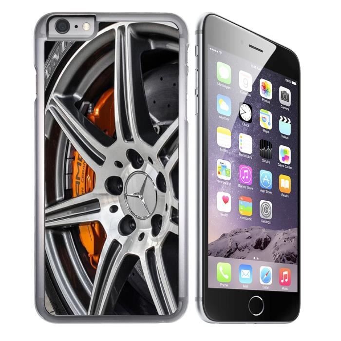 coque iphone 8 plus jante mercedes amg