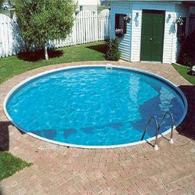 Piscine enterree de 5 5 x 1 20m achat vente kit for Piscine enterree en kit
