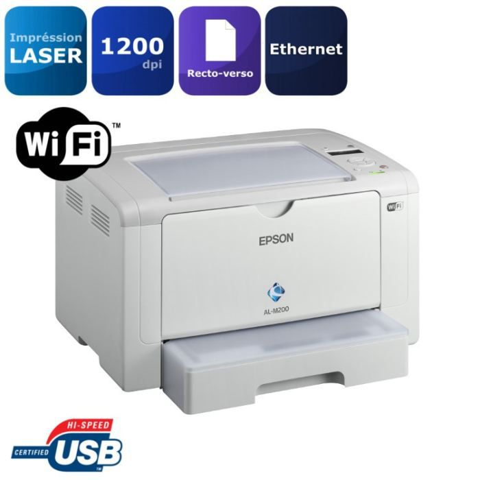 epson workforce al m200dw imprimante laser wi fi achat vente imprimante epson workforce al. Black Bedroom Furniture Sets. Home Design Ideas