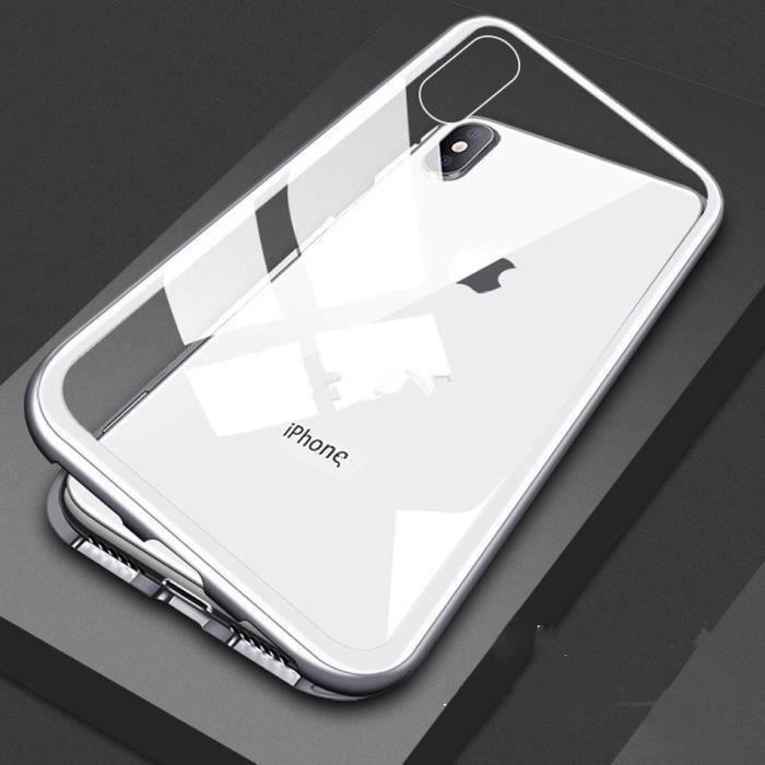 grandever coque pour iphone xs max magnetique bump