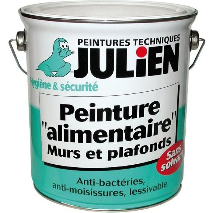 peinture alimentaire hygiapeint julien 500ml blanc achat vente peinture vernis cdiscount. Black Bedroom Furniture Sets. Home Design Ideas