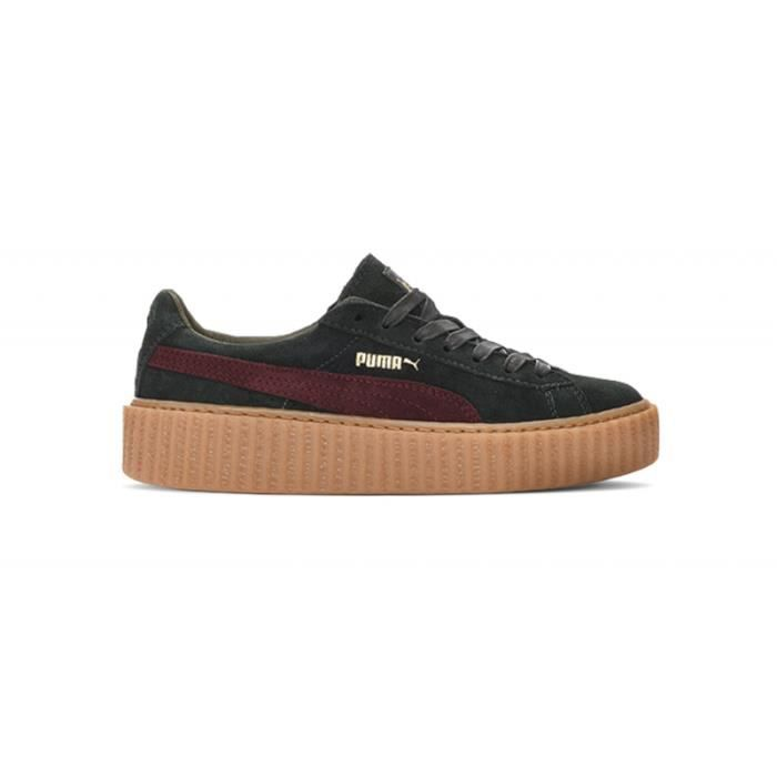 puma creepers noir talon marron