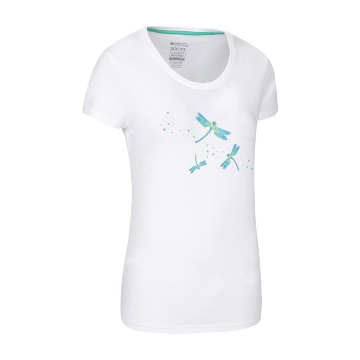 Mountain Warehouse Femme Léger Respirant T-shirt avec IsoCool tissu