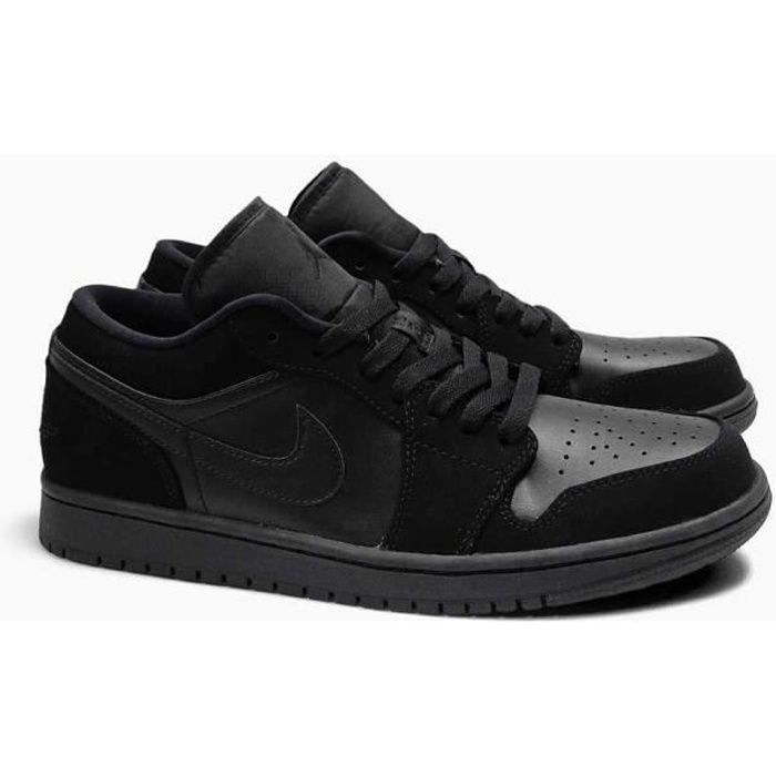 BASKET Basket Hommes Air Jordan 1 Low Noires 553558-025
