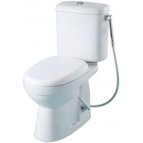 Pack wc poser douchette hansgrohe sortie horizontale achat vente wc - Wc avec douchette anale ...
