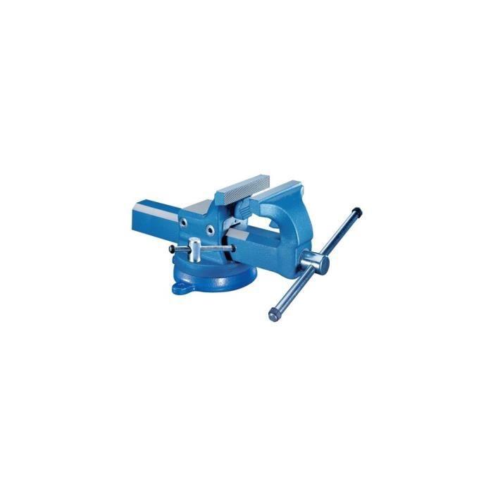 ETAU - SERRE-JOINT  Etau d'établi base rotative 130 mm de serrage et m