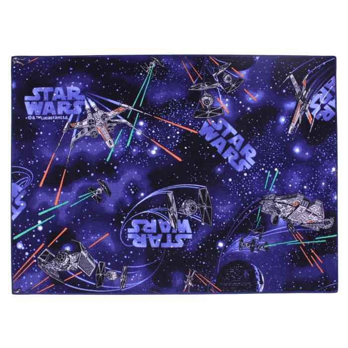 star wars tapis classic 95 x 133 cm achat vente tapis cdiscount. Black Bedroom Furniture Sets. Home Design Ideas