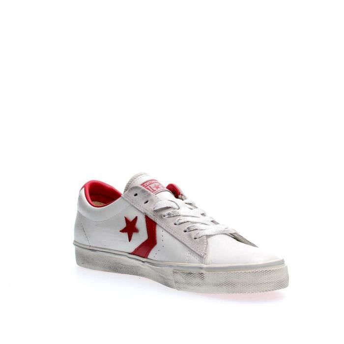 SNEAKERS CONVERSE RED 42 Homme WHITE SCwqUO