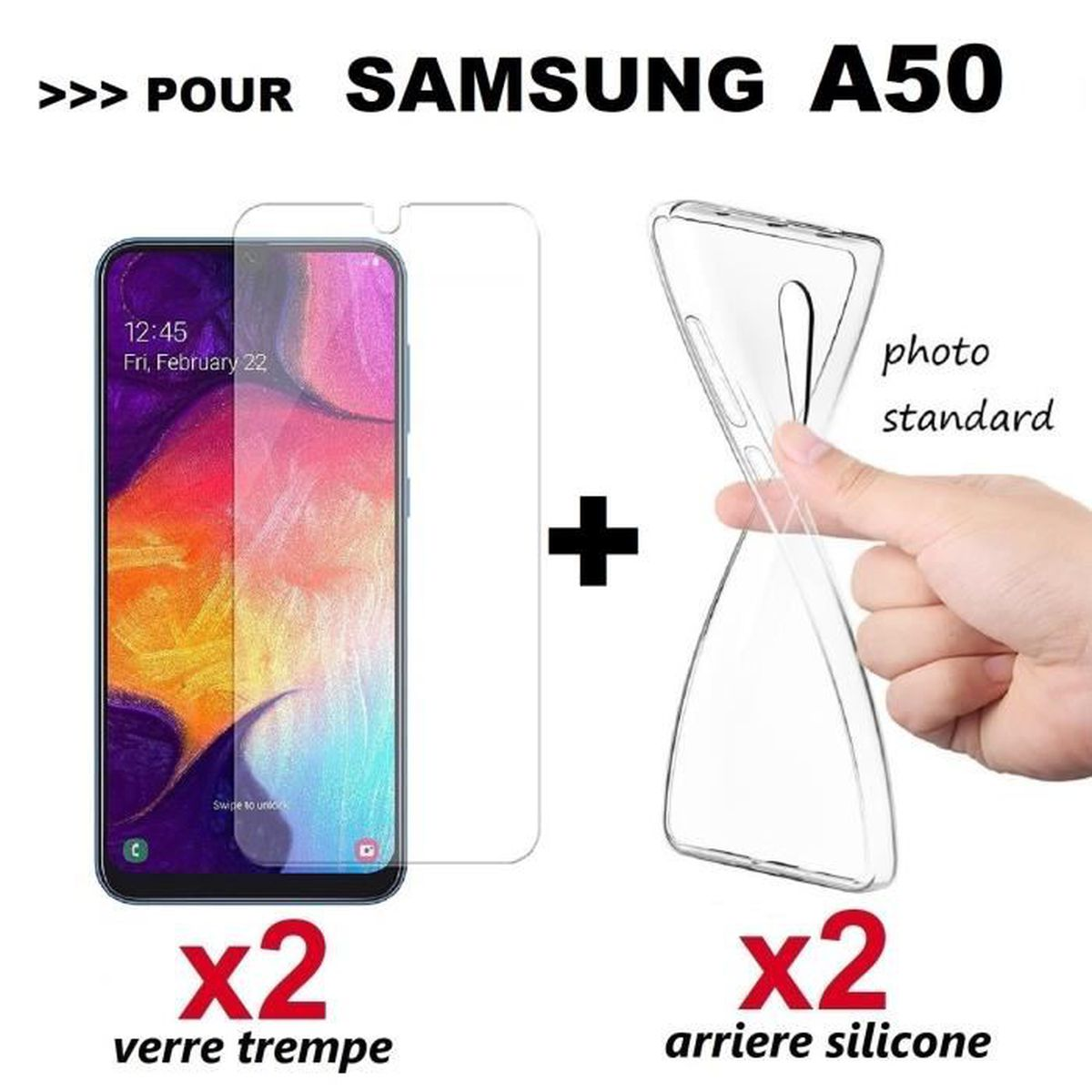 coque en silicone samsung a50 2019