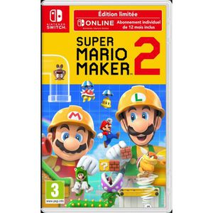 JEU NINTENDO SWITCH Super Mario Maker 2 Jeu Switch Edition Limitée