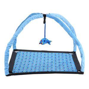 ARBRE À CHAT Tente de jeu pour chat et tapis moelleux