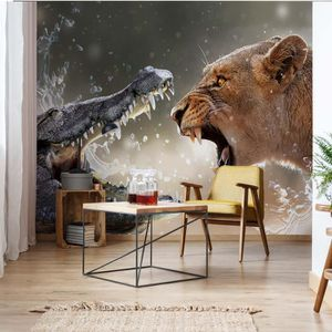 AFFICHE - POSTER Poster Mural Divers  Animaux et vieV4 - 254cm x 18