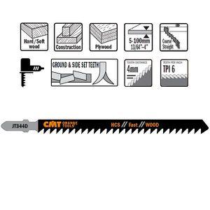 HCS de scie sauteuse bim/étal T101AO 76/mm chantourner pour bois tendre Professionnel de loutil Allemagne 3/St