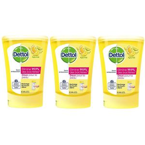 SAVON - SYNDETS Dettol Savon Recharge pour No Touch Agrumes 250 ml