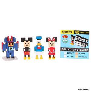 FIGURINE - PERSONNAGE Coffret de 4 mini figurines Disney Crossy Road Ser